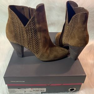 Vince Camuto Rotiena Pumpernickel Booties